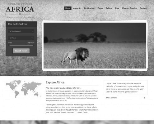 Explorations Africa | Home Page