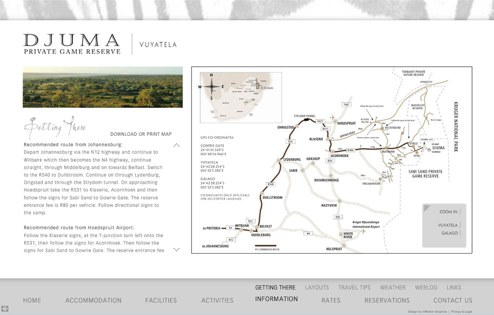Djuma | Interactive Animated Map