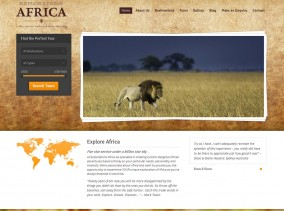 Explorations Africa Home Page