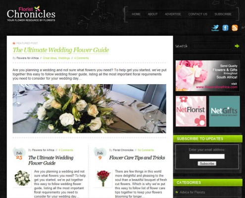 Florist Chronicles | Home