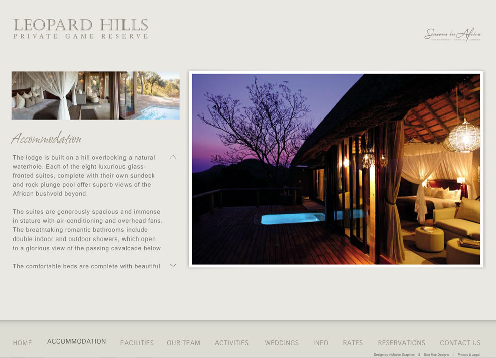 Leopard Hills | Content Page