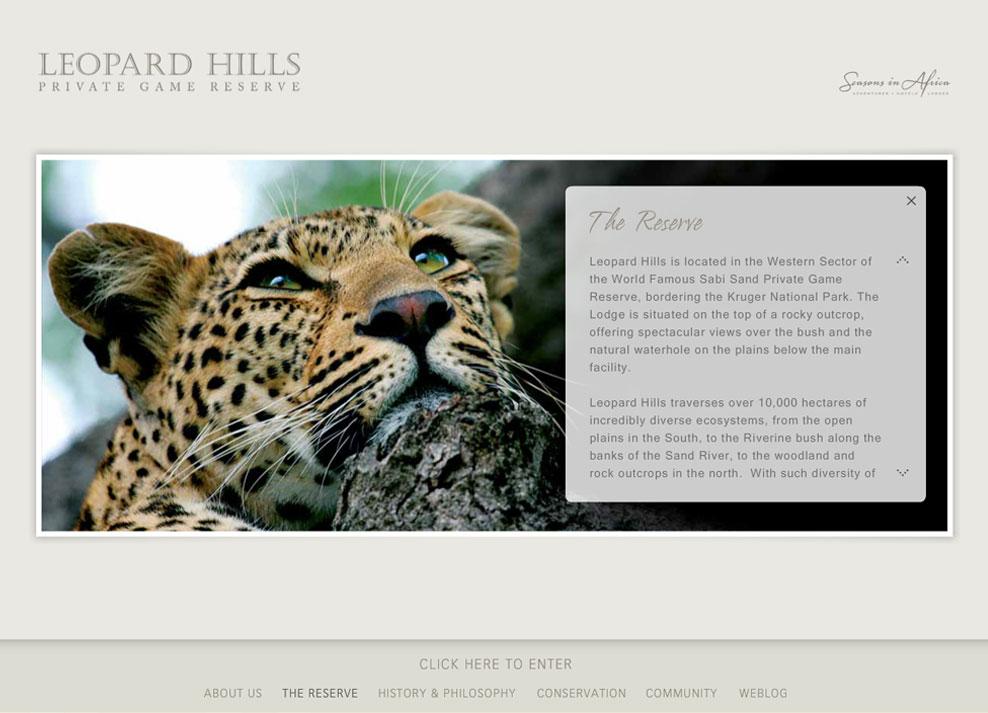 Leopard Hills | Home