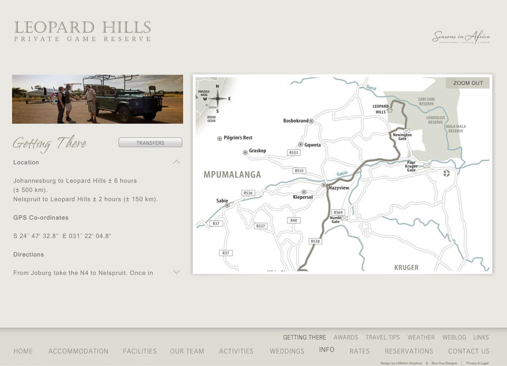 Leopard Hills | Interactive Animated Map