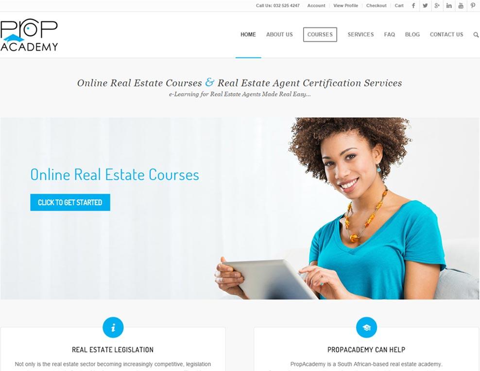 PropAcademy Homepage