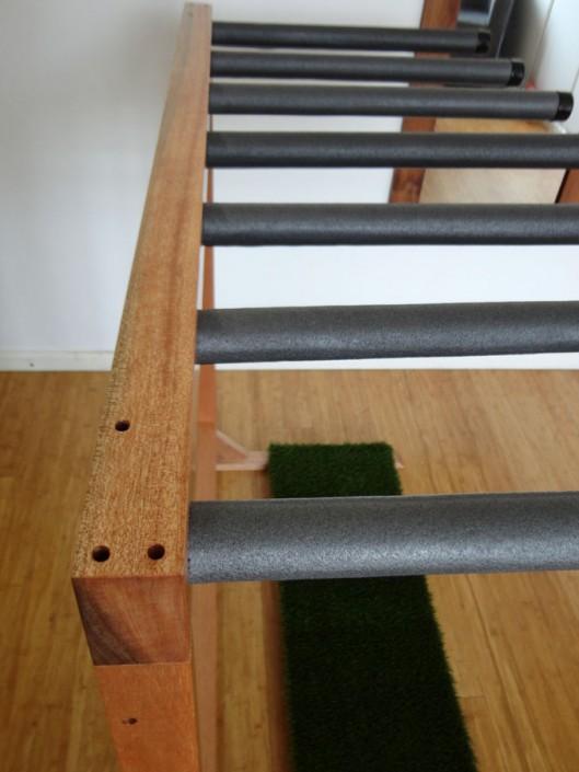 Surfboard Rack Wood Sealed