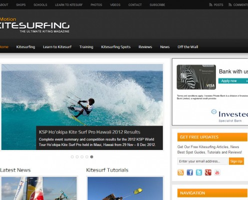 inMotion Kitesurfing | Home
